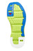 Salomon RX Slide 3.0 Sandals Men granny green/granny green/union blue